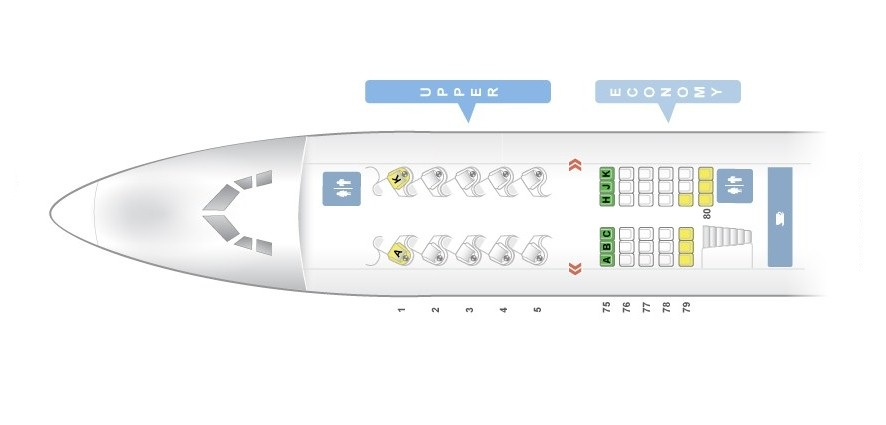 Seat Map Boeing 747 400 Quot Virgin Atlantic Quot Best Seats In Plane