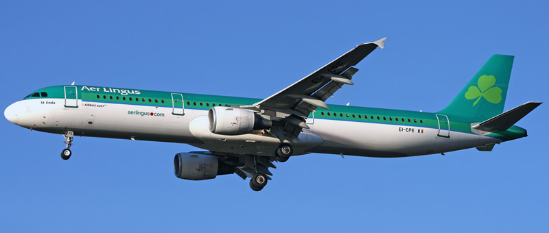 Airbus A321-200 Aer Lingus. Photos and description of the plane
