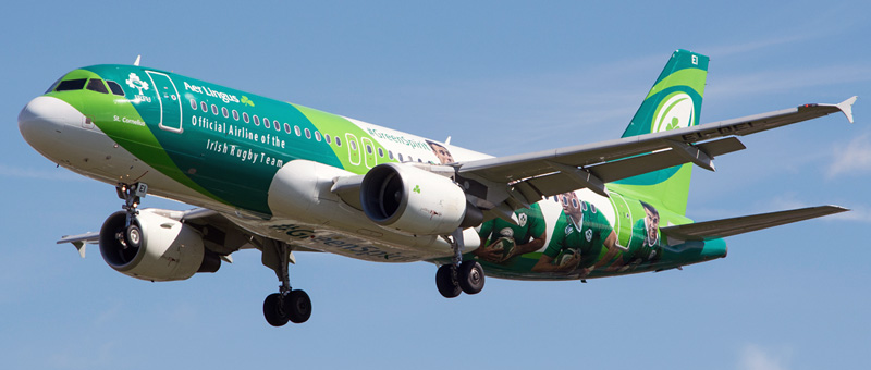 Airbus A320-200 Aer Lingus. Photos and description of the plane
