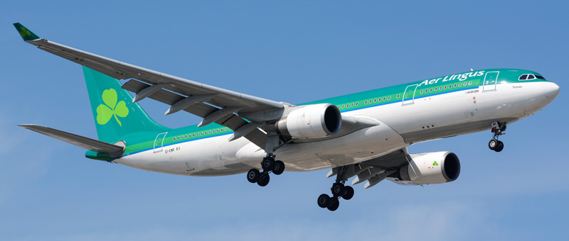 Airbus A330-200 Aer Lingus. Photos and description of the plane
