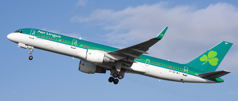 Boeing 757-200 Aer Lingus. Photos and description of the plane