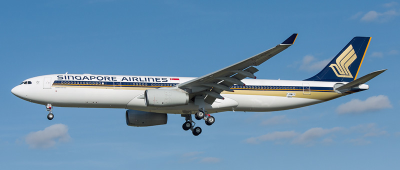 """Seat map Airbus A330-300 """"Singapore Airlines"""". Best seats in the plane"""