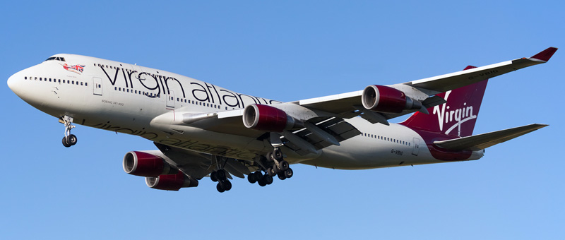 Boeing 747-400 Virgin Atlantic. Photos and description of the plane