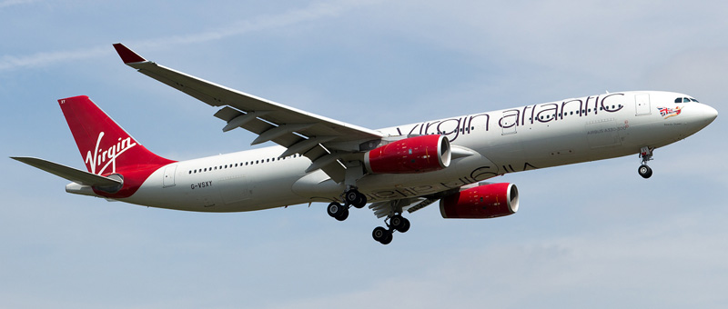Airbus A330-300 Virgin Atlantic. Photos and description of the plane
