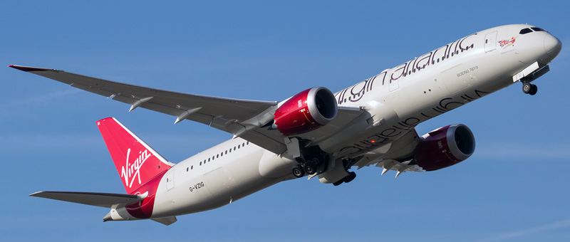 Boeing 787-9 Dreamliner Virgin Atlantic. Photos and description of the plane