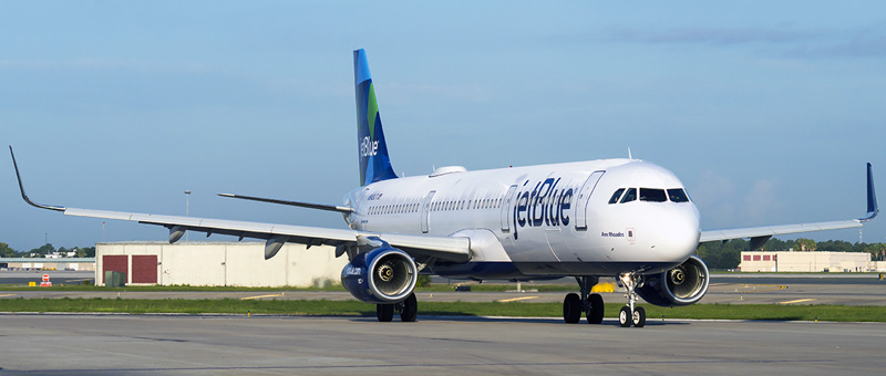 Airbus A321-200 JetBlue. Photos and description of the plane