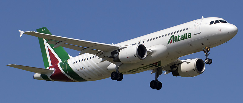 Airbus A320-200 Alitalia. Photos and description of the plane