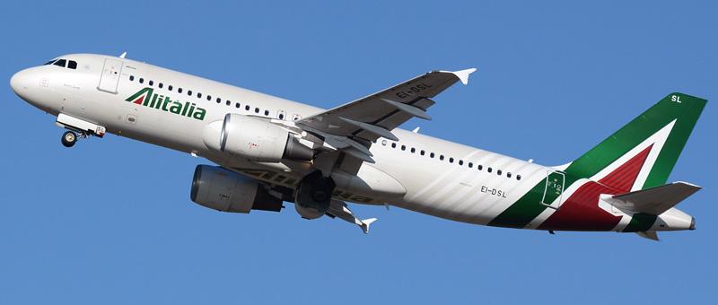 Airbus A320-216 Alitalia
