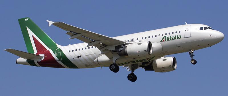 Airbus A319-100 Alitalia. Photos and description of the plane