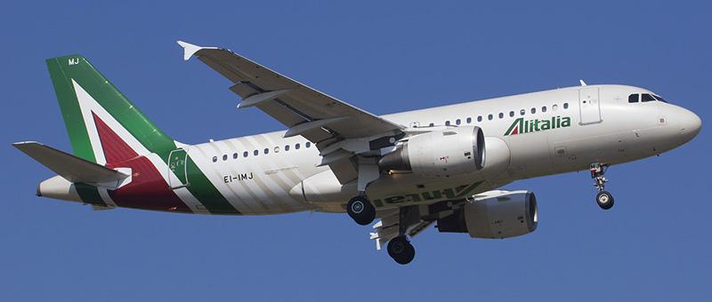Alitalia Airbus A319-100