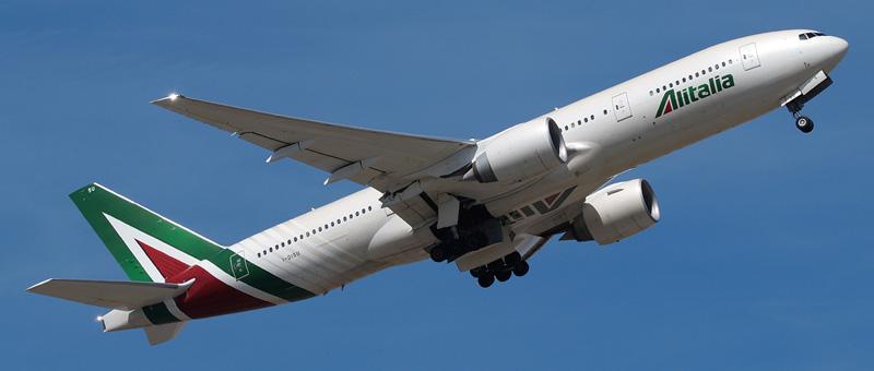 Boeing 777-200 Alitalia. Photos and description of the plane