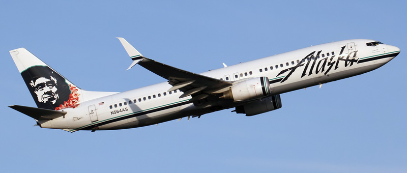 Boeing 737-800 Alaska Airlines. Photos and description of the plane