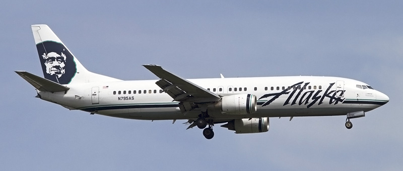 Boeing 737-400 Alaska Airlines. Photos and description of the plane