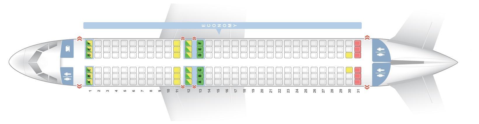 easyjet a320 seating plan - photo #8
