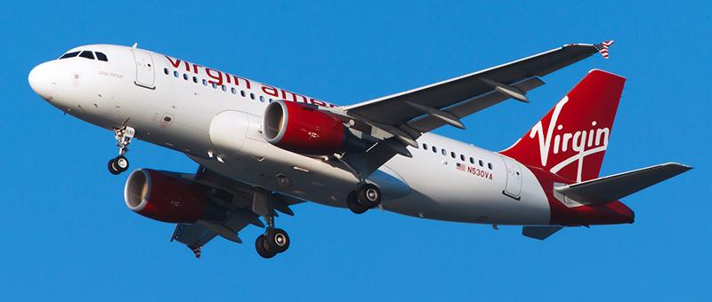 Virgin America Airbus A319-100