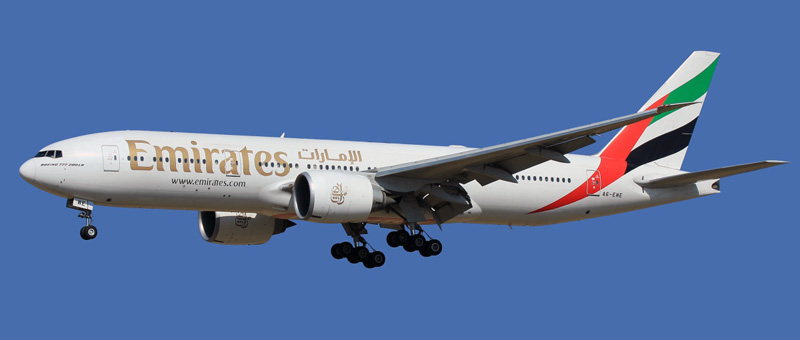 Boeing 777-200 Emirates. Photos and description of the plane