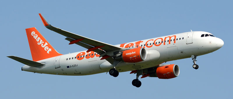 Airbus A320 Easyjet. Photos and description of the plane