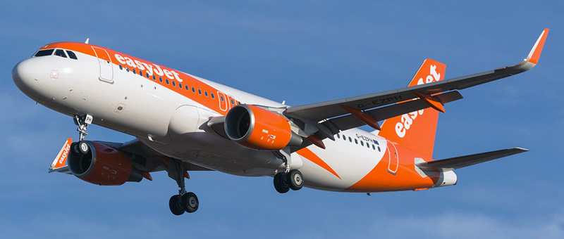 Seat map Airbus A320 Easyjet. Best seats in the plane