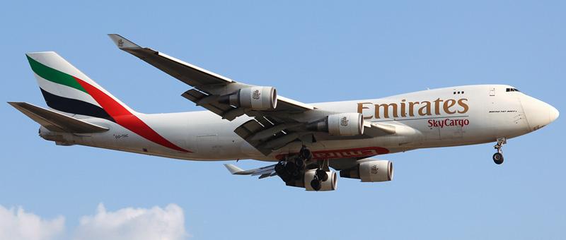 Boeing 747-400 Emirates