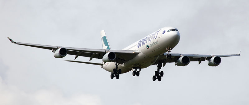 Airbus A340-300 Cathay Pacific. Photos and description of the plane
