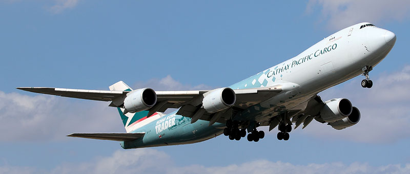 Cathay Pacific Boeing 747-800
