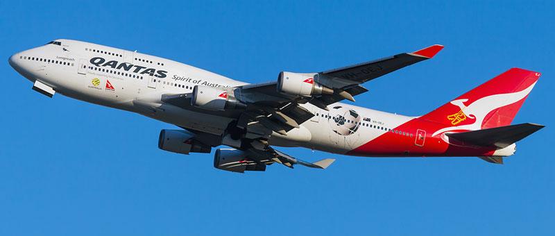 Qantas Airways Boeing 747-400