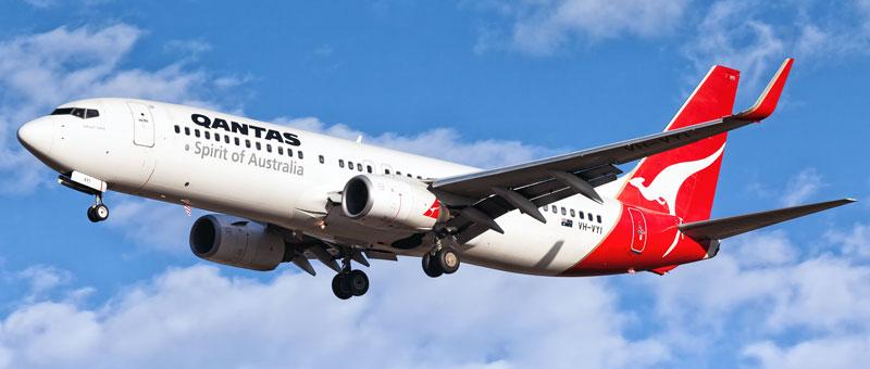 Seat map Boeing 737-800 Qantas Airways. Best seats in the plane