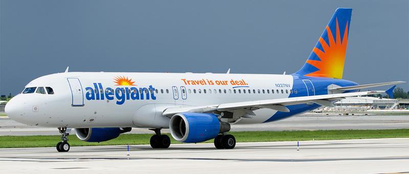 Airbus A320-200 Allegiant Air. Photos and description of the plane