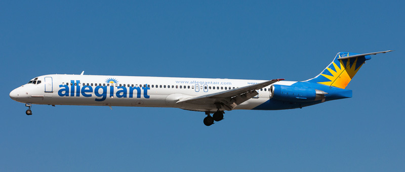 McDonnell Douglas MD-83 Allegiant Air. Photos and description of the plane