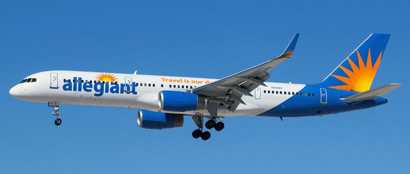 Allegiant Air Being 757-200