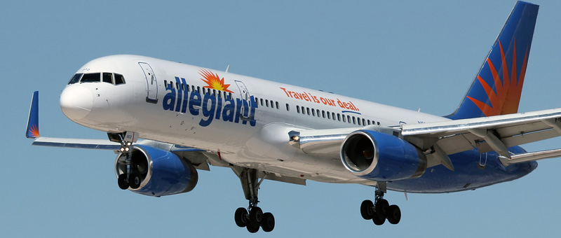 Boeing 757-200 Allegiant Air. Photos and description of the plane