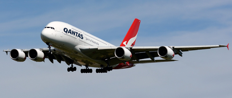 Airbus A380-800 Qantas Airways. Photos and description of the plane