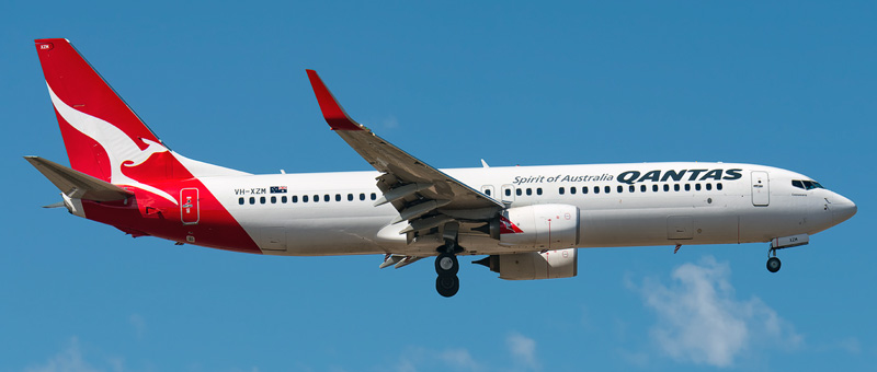 Boeing 737-800 Qantas Airways. Photos and description of the plane