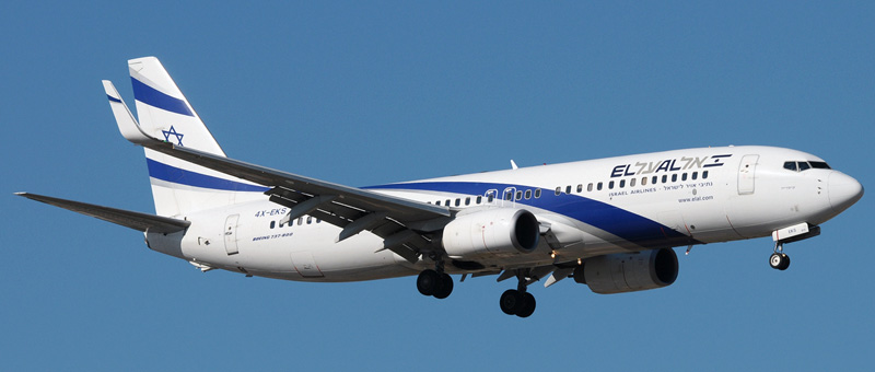 Boeing 737-800 El Al. Photos and description of the plane