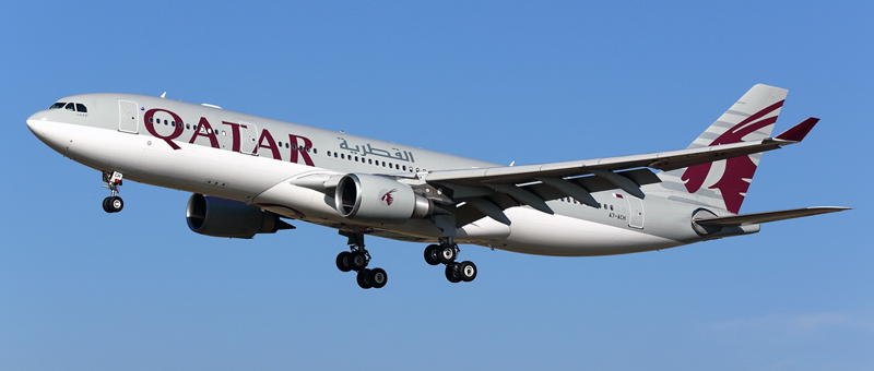 Airbus A330-200 Qatar Airways