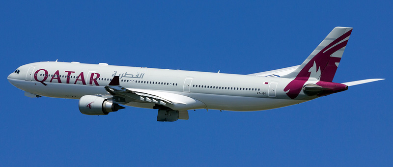 Airbus A330-300 Qatar Airways. Photos and description of the plane