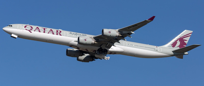 Airbus A340-600 Qatar Airways