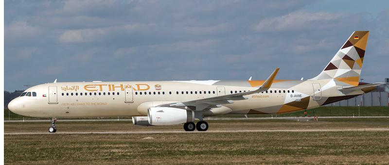 Airbus A321-200 Etihad Airways