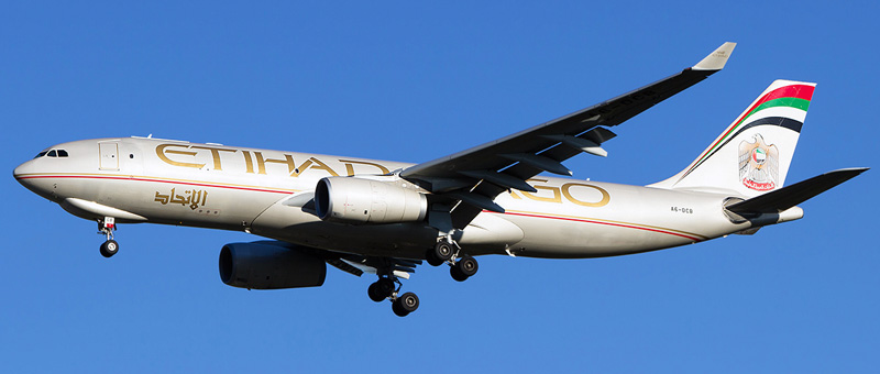 Seat map Airbus A330-200 Etihad Airways. Best seats in the plane