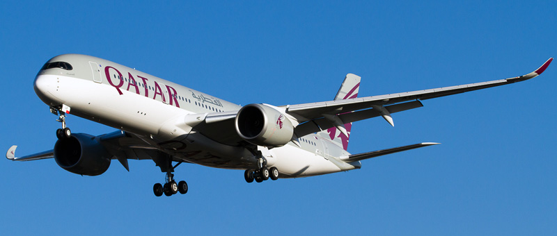 Airbus A350-900 Qatar Airways