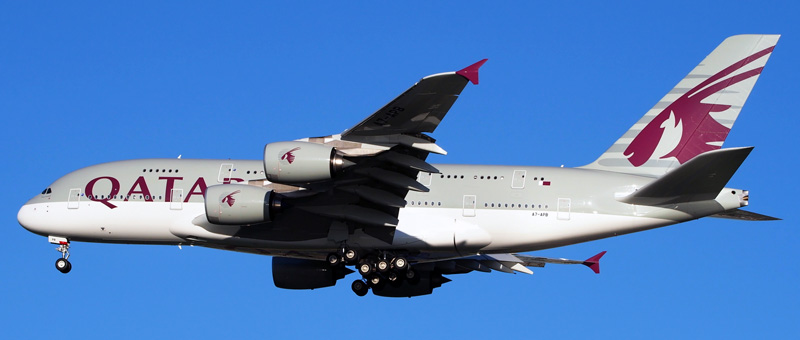 Airbus A380-800 Qatar Airways