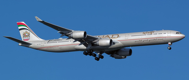 Airbus A340-600 Etihad Airways. Photos and description of the plane