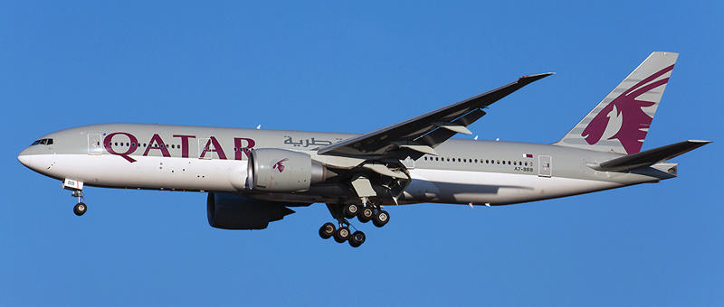 Boeing 777-200 Qatar Airways. Photos and description of the plane