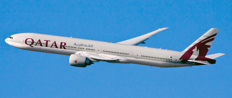 Boeing 777-300 Qatar Airways