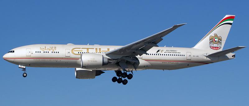 Boeing 777-200 Etihad Airways. Photos and description of the plane