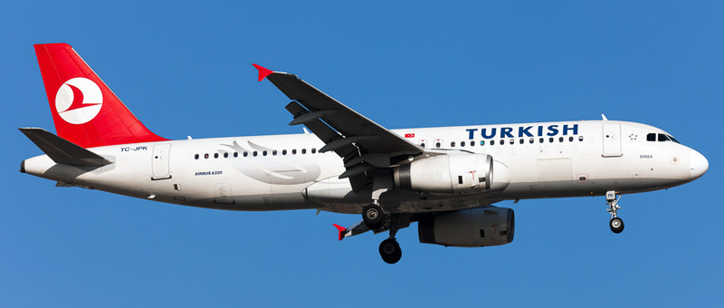 Airbus A320-200 Turkish Airlines. Photos and description of the plane