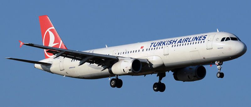 Airbus A321-200 Turkish Airlines. Photos and description of the plane