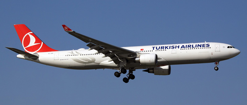 Airbus A330-300 Turkish Airlines. Photos and description of the plane
