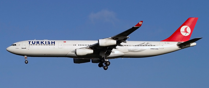Airbus A340-300 Turkish Airlines. Photos and description of the plane