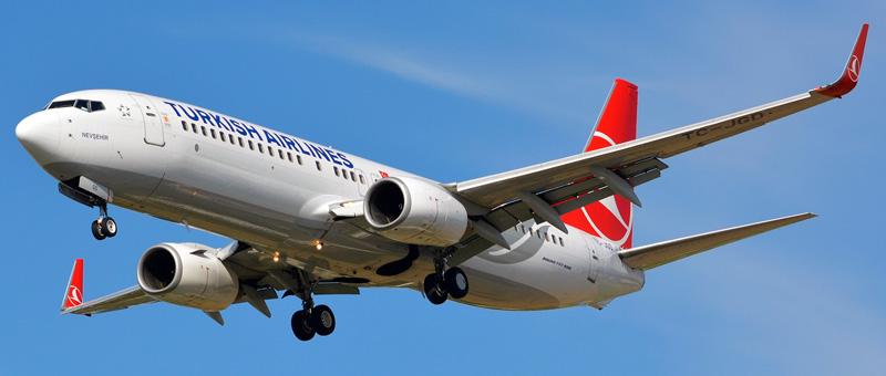 Boeing 737-800 Turkish Airlines